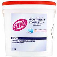 SAVO Do bazénu Maxi tablety komplex 3v1 5 kg - Bazénová chémia