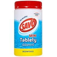 SAVO Chlórové tablety mini 0,9 kg - Bazénová chémia