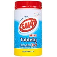 SAVO Chlórové tablety mini komplex 3v1 0,8 kg - Bazénová chémia