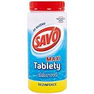 SAVO Chlórové tablety maxi 1,4 kg - Bazénová chémia