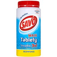 SAVO Chlórové tablety maxi komplex 3v1 1,4 kg - Bazénová chémia
