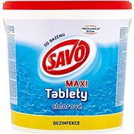 SAVO Chlórové tablety MAXI 4,6 kg - Bazénová chémia