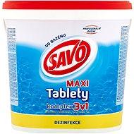 SAVO Chlórové tablety MAXI komplex 3 v 1 4 kg