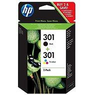 HP N9J72AE č. 301 multipack - Cartridge