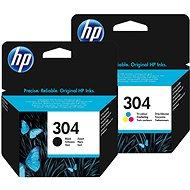 HP č. 304 čierna + farebná