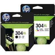 HP č. 304XL čierna  + farebná