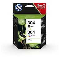 HP 3JB05AE č. 304 multipack čierna + tricolor - Cartridge