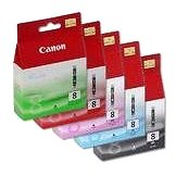 Cartridge Canon CLI-8 BK/PC/PM/R/G Multi Pack - Cartridge