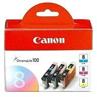 Canon CLI-8 C/M/Y Pack – azúrová, purpurová, žltá - Cartridge