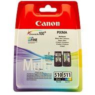 Canon PG-510 + CL-511 multipack čierna, farebná - Cartridge