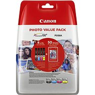 Canon XL CLI-551 C/M/Y/BK PHOTO VALUE - Cartridge