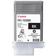 Cartridge Canon PFI-102BK čierna - Cartridge