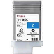 Cartridge Canon PFI-102C modrá - Cartridge