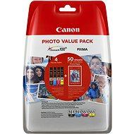 Canon CLI-551 multipack + fotopapier PP-201 - Cartridge
