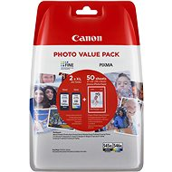 Canon PG-545XL + CL-546XL + fotopapier GP-501 Multipack - Cartridge