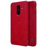 Nillkin Qin Book pre Samsung A605 Galaxy A6 Plus 2018 Red - Puzdro na mobil