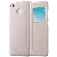 Nillkin Sparkle S-View Gold pro Xiaomi Redmi 4X - Puzdro na mobil