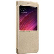 Nillkin Sparkle S-View pre Xiaomi Redmi 6 Gold - Puzdro na mobil