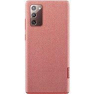 Puzdro na mobil Samsung Ekologický zadný kryt z recyklovaného materiálu pre Galaxy Note20 červený - Pouzdro na mobil