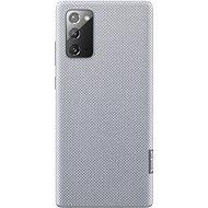 Puzdro na mobil Samsung Ekologický zadný kryt z recyklovaného materiálu pre Galaxy Note20 sivý - Pouzdro na mobil