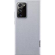 Puzdro na mobil Samsung Ekologický zadný kryt z recyklovaného materiálu pre Galaxy Note20 Ultra 5G sivý - Pouzdro na mobil