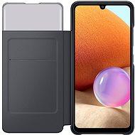 Samsung Flipové puzdro S View pre Galaxy A32 čierne - Puzdro na mobil