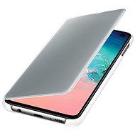 Samsung Galaxy S10e Clear View Cover biele