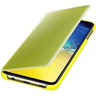 Samsung Galaxy S10e Clear View Cover žltý