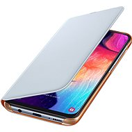 Samsung Flip Case na Galaxy A50 White - Puzdro na mobil
