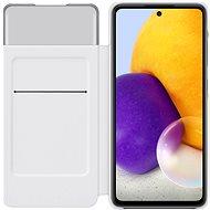 Samsung flipové puzdro S View pre Galaxy A72 biele - Puzdro na mobil