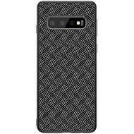 Nillkin Synthetic Fiber Plaid na Samsung G975 Galaxy S10+ black - Kryt na mobil