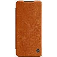 Nillkin Qin pre Xiaomi Mi 10 Lite Brown - Puzdro na mobil