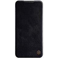 Puzdro na mobil Nillkin Qin kožené puzdro pre Xiaomi Redmi Note 8 Pro Black - Pouzdro na mobil