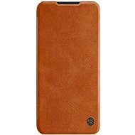 Puzdro na mobil Nillkin Qin pre Xiaomi Redmi Note 8T Brown - Pouzdro na mobil