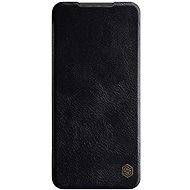 Puzdro na mobil Nillkin Qin kožené puzdro pre Xiaomi Redmi Note 9 Pro/Note 9S Black - Pouzdro na mobil