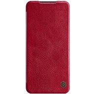 Puzdro na mobil Nillkin Qin kožené puzdro pre Xiaomi Redmi Note 9 Pro/Note 9S Red - Pouzdro na mobil