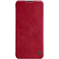 Nillkin Qin kožené puzdro pre Samsung Galaxy A11 Red - Puzdro na mobil