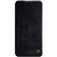Puzdro na mobil Nillkin Qin kožené puzdro pre Huawei P40 Lite Black - Pouzdro na mobil