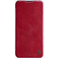 Puzdro na mobil Nillkin Qin kožené puzdro pre Huawei P40 Lite Red - Pouzdro na mobil