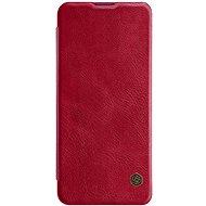 Puzdro na mobil Nillkin Qin kožené puzdro pre Xiaomi Mi 10/10 Pro Red - Pouzdro na mobil