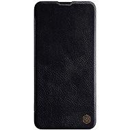 Nillkin Qin kožené puzdro pre Samsung Galaxy A20s Black - Puzdro na mobil