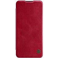 Puzdro na mobil Nillkin Qin kožené puzdro pre OnePlus Nord Red - Pouzdro na mobil