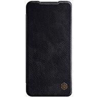 Puzdro na mobil Nillkin Qin kožené puzdro pre Xiaomi Redmi Note 9 Black - Pouzdro na mobil