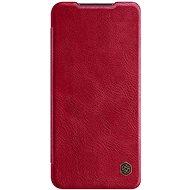 Puzdro na mobil Nillkin Qin kožené puzdro pre Xiaomi Redmi Note 9 Red - Pouzdro na mobil