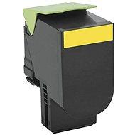 LEXMARK 80C20Y0 žltý - Toner