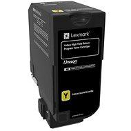 LEXMARK 74C2HY0 žltý - Toner