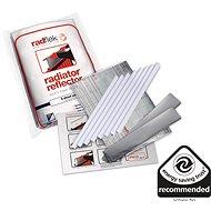 Úsporné radiátorové fólie Radflek 3 ks pro 6 radiátorů a 2ks Radstik -