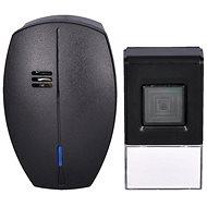 Solight bezdrôtový zvonček, do zásuvky, 120 m, čierny, learning code (1L56B) - Zvonček