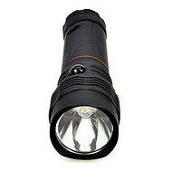 Solight LED svietidlo vysúvacie, 3 W COB + 1 W, čierne - Svietidlo
