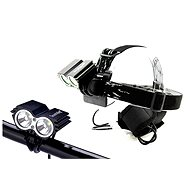 Solight nabíjacie LED cyklo a čelové svietidlo - Čelovka